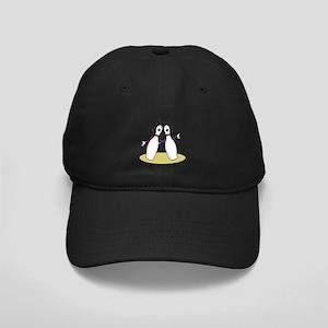 Singing Bowling Pins Black Cap