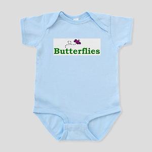 Butterflies Infant Creeper Body Suit