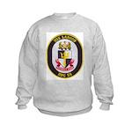 USS LABOON Kids Sweatshirt