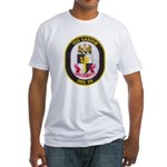 USS LABOON Fitted T-Shirt