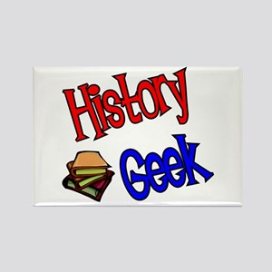 History Geek Rectangle Magnet