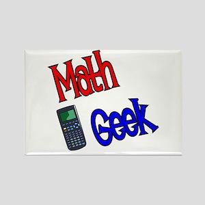 Math Geek Rectangle Magnet