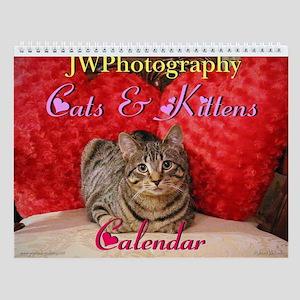 Cute Cats & Kittens Wall Calendar