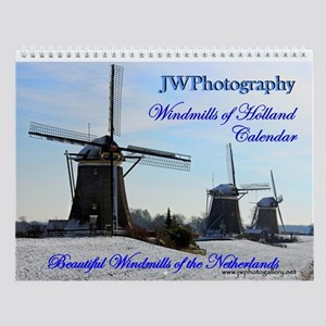 New Windmills Of Holland Wall Calendar