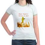 Bad Tippers Serve Jr. Ringer T-Shirt