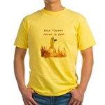 Bad Tippers Serve Yellow T-Shirt