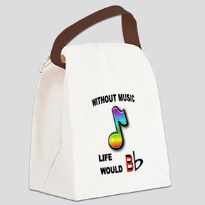 MUSIC NOTE Canvas Lunch Bag