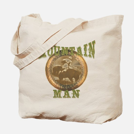 Mountain man gifts and t-shir Tote Bag