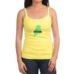 True Blue Maine LIBERAL Jr. Spaghetti Tank