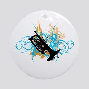Urban Mellophone Ornament (Round)