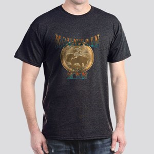 The Mountain Man or trappers, Dark T-Shirt