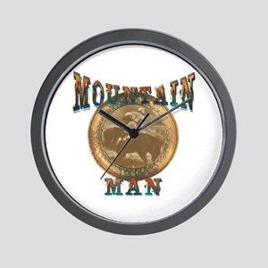 The Mountain Man or trappers, Wall Clock