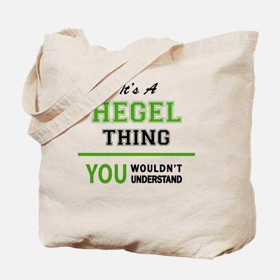 Unique Hegel Tote Bag