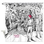 Outskirts Of Vision Shower Curtain