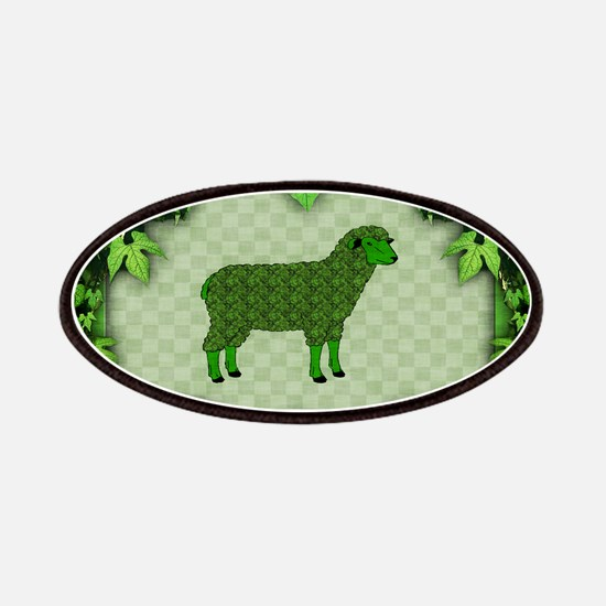 Green Sheep Patches