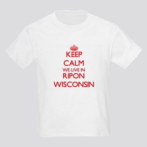 Keep calm we live in Ripon Wisconsin T-Shirt