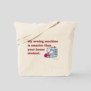 Sewing Machine/Honor Student Tote Bag