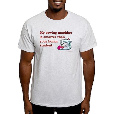 Sewing Machine/Honor Student Light T-Shirt