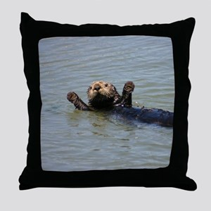 OTTERVILLE Throw Pillow