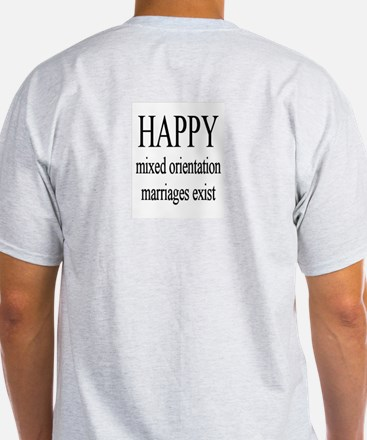 """Happy M.O.M."" Ash Grey T-Shirt"