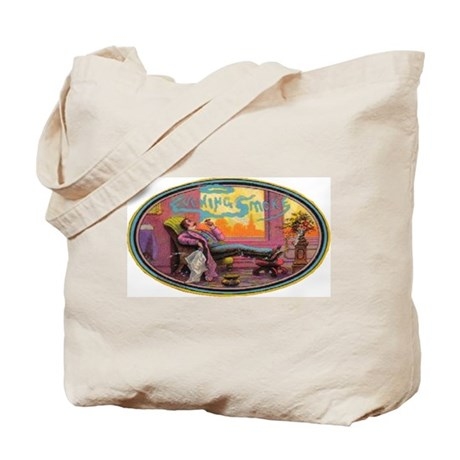 Evening Smoke Tote Bag