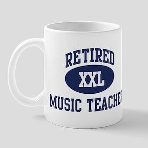 Retired Music Teacher Mug