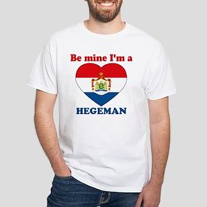 Hegeman, Valentine's Day White T-Shirt