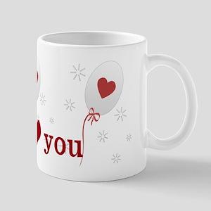 Love I Heart You Mug