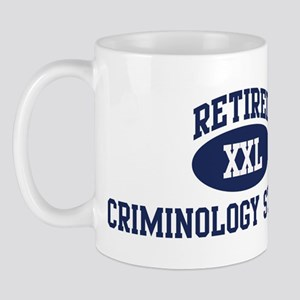 Retired Criminology Student Mug