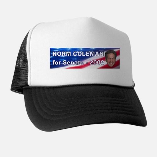 """""""Norm Coleman 2008"""" Trucker Hat"""