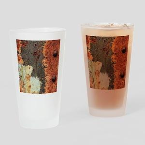 RUSTY Drinking Glass