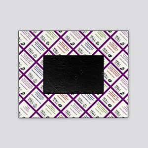SATC COLLAGE (PURPLE) Picture Frame