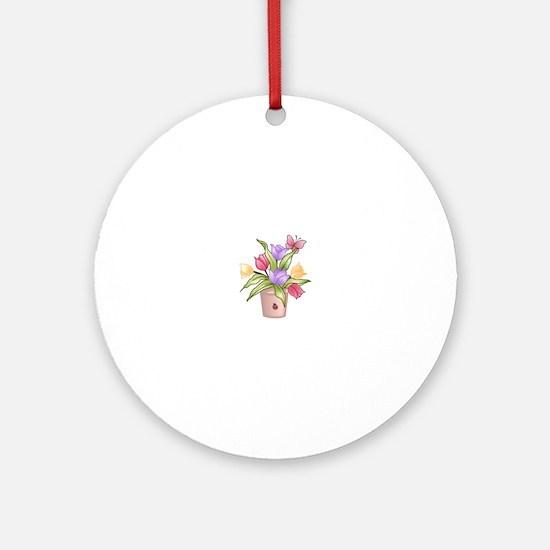 TULIPS Ornament (Round)