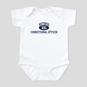 Retired Correctional Officer Infant Bodysuit