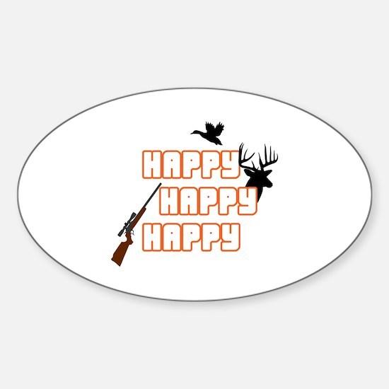 HAPPY HAPPY HAPPY APPLIQUES Decal