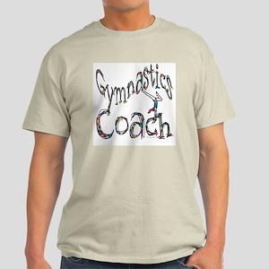 Gymnastics Coach Graphic Desi Light T-Shirt