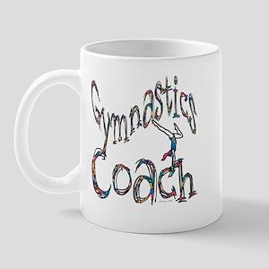 Gymnastics Coach Graphic Desi Mug