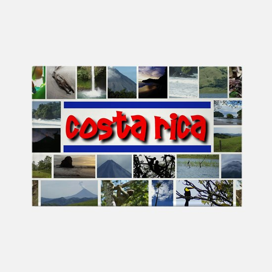 Funny Costa rica Rectangle Magnet