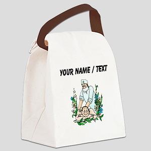 Custom Masseur Canvas Lunch Bag