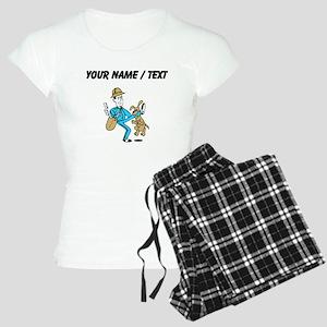 Custom Mailman Pajamas