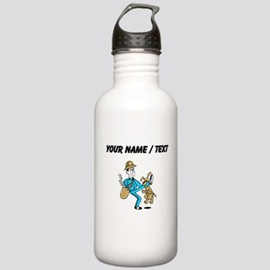 Custom Mailman Water Bottle