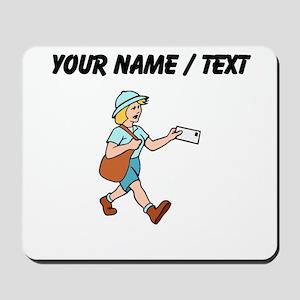 Custom Mail Carrier Mousepad