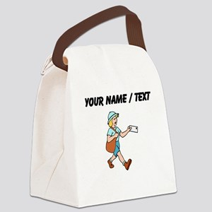 Custom Mail Carrier Canvas Lunch Bag