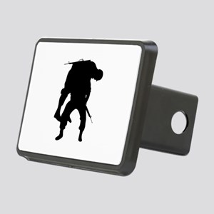 WOUNDED SOLDIER Hitch Cover