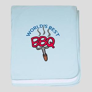 WORLDS BEST BBQ baby blanket