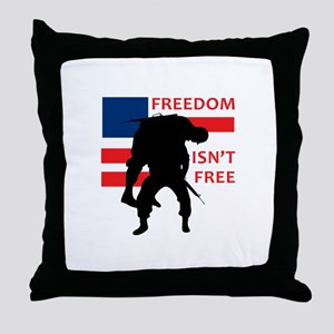 FREEDOM ISNT FREE Throw Pillow