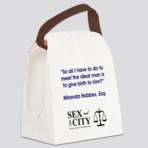 IDEAL MAN Canvas Lunch Bag