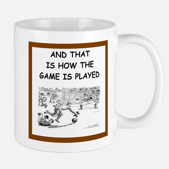 soccer joke Mugs