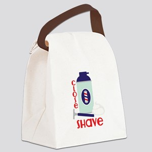 Close Shave Canvas Lunch Bag