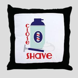 Close Shave Throw Pillow